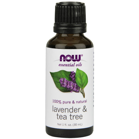 Lavender & Tea Tree Essential Oil by NOW