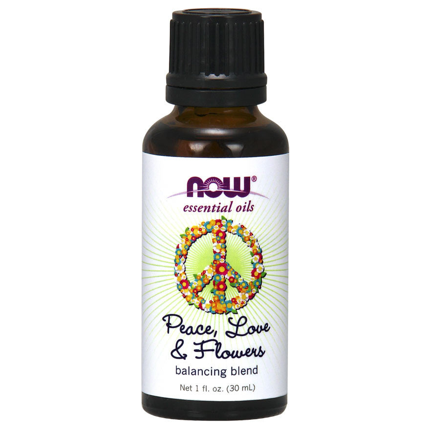 Peace, Love & Flowers Essential Oil by NOW