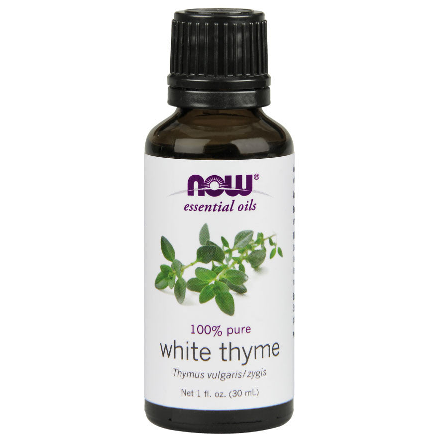 White Thyme Essential Oil by NOW