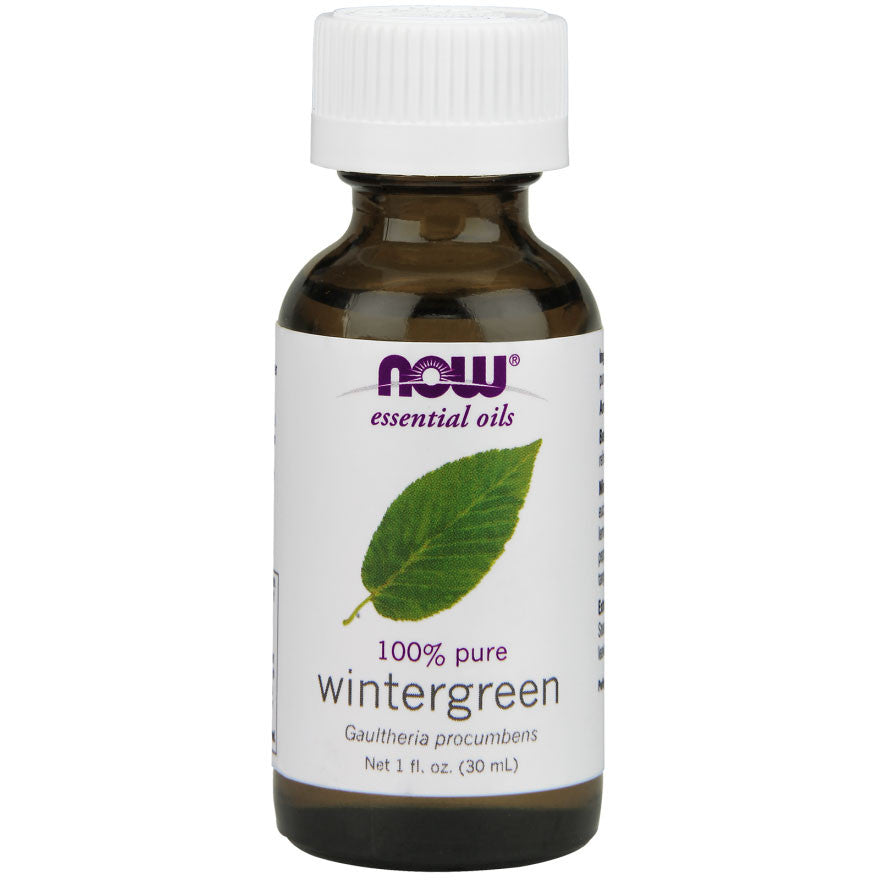 Wintergreen Essential Oil by NOW