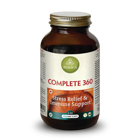 Complete 360 Stress Relief & Immune Support by Purica (120 Capsules)