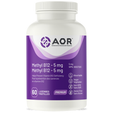 Methyl B12 – 5 mg (formally know as Methylcobalamin) by AOR