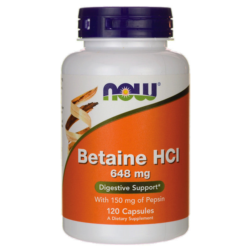 Betaine HCI by NOW
