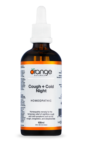 Cough + Cold Night Homeopathics by Orange Naturals