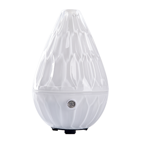 LOTUS White Glass Ultrasonic Diffuser