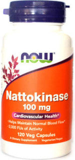 Nattokinase 100mg by NOW