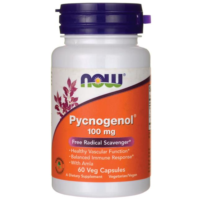 Pycnogenol 100mg by NOW