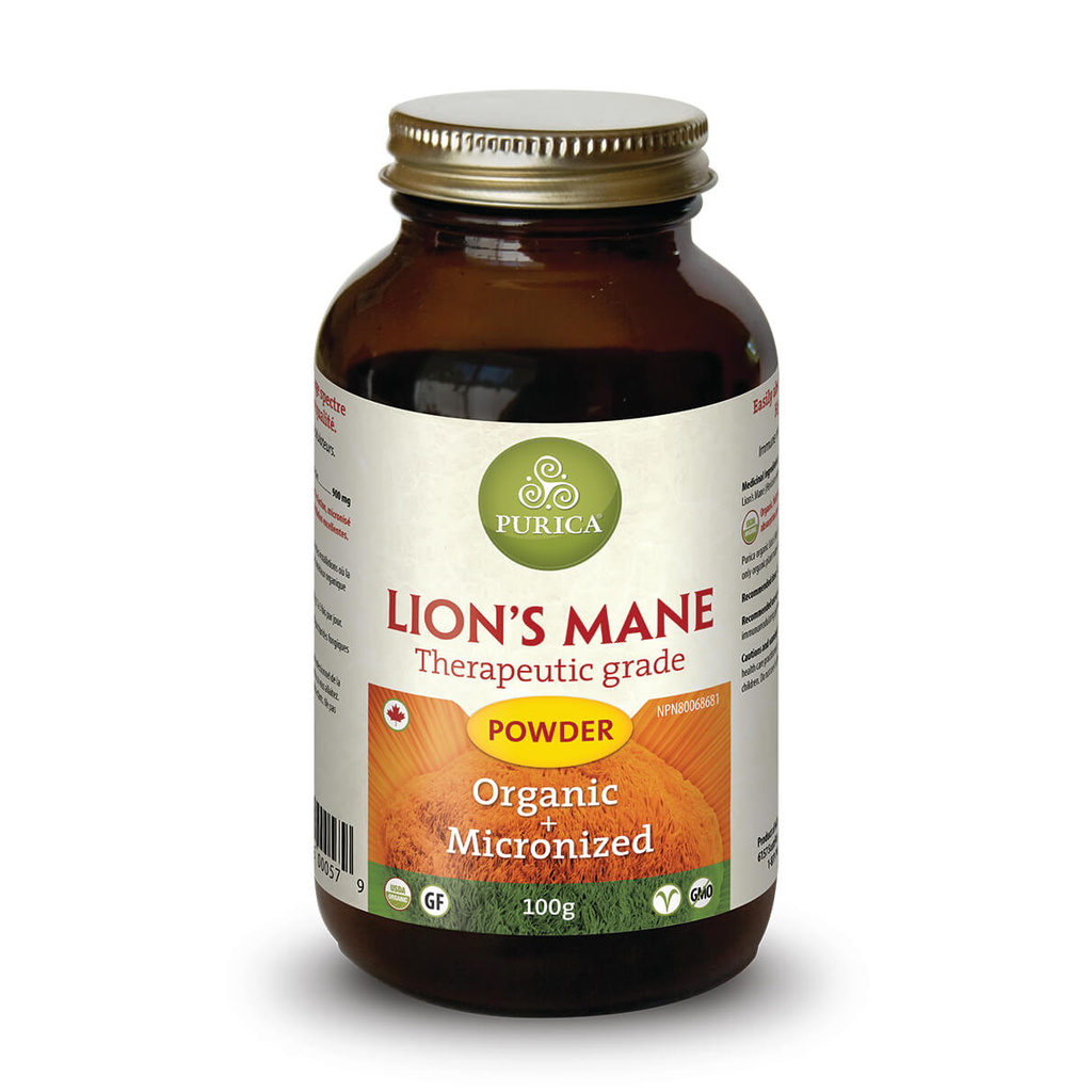 Lion's Mane Brain Power by Purica (100g Powder)