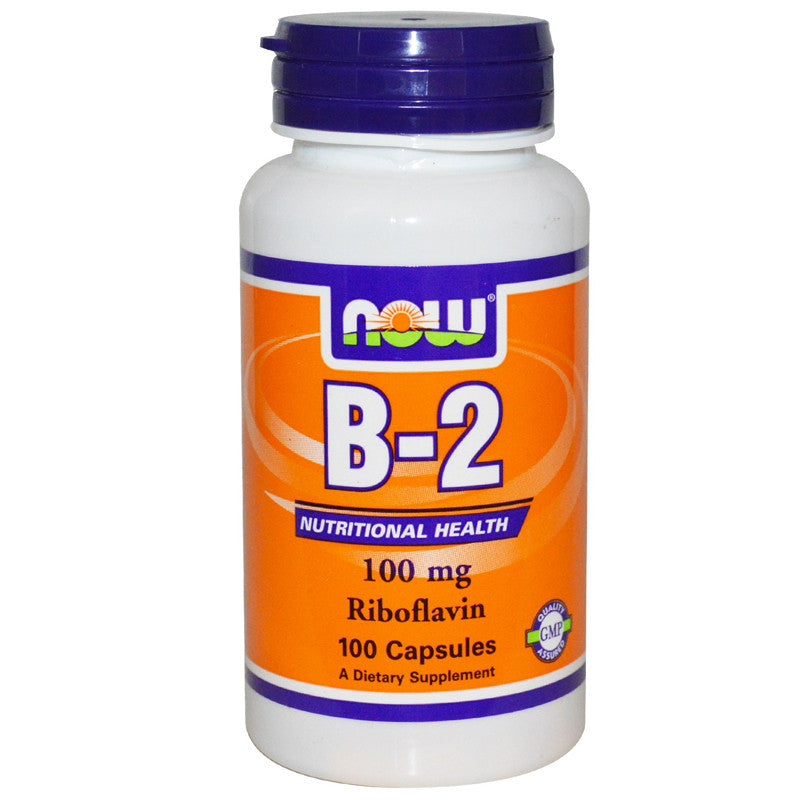 B-2 100mg by NOW