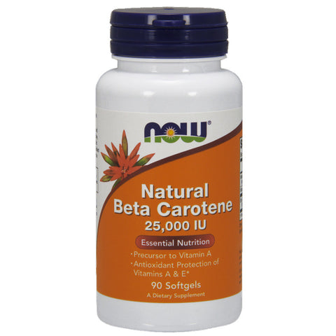 Beta Carotene (Natural) by NOW