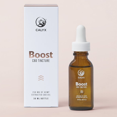 BOOST 250mg CBD Tincture by Calyx Wellness