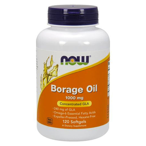 Borrage Oil by NOW