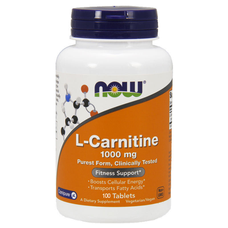 L-Carnitine 1000mg by NOW