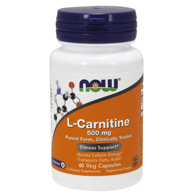 L-Carnitine 500mg by NOW