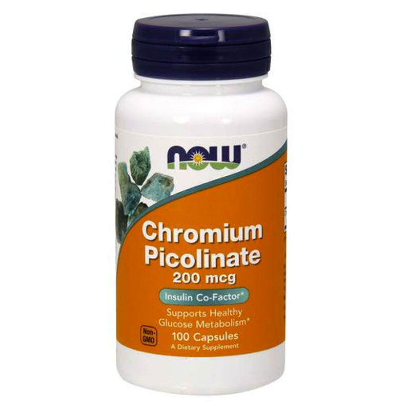 Chromium Picolinate 200mcg by NOW