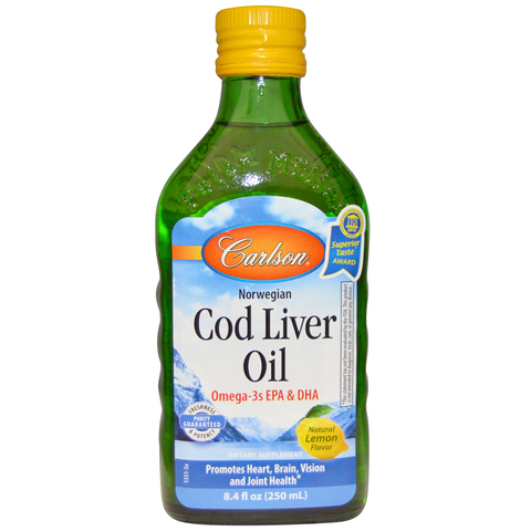 Liquid Cod Liver Oil by Carlson