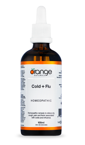 Cold + Flu Homeopathic by Orange Naturals