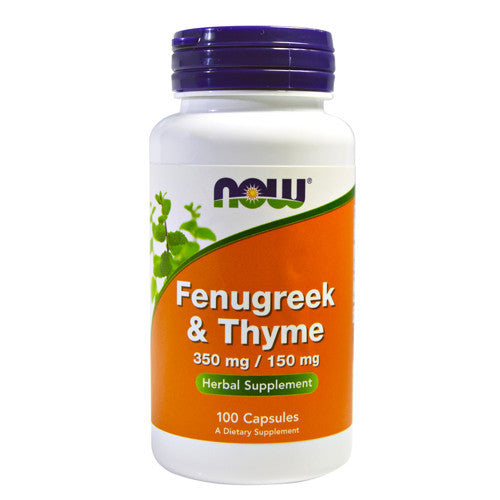 Fenugreek & Thyme by NOW