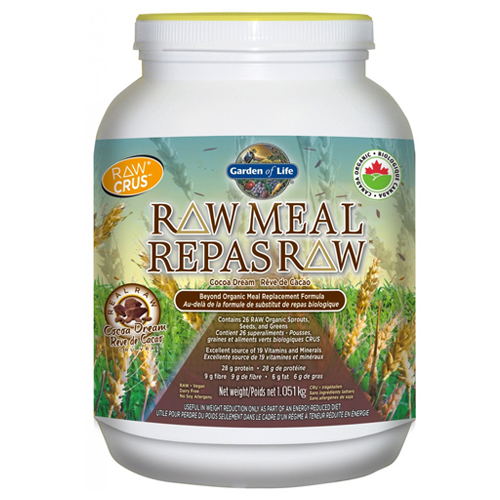 Raw meal by garden of life chocolate vanilla natural - Garden of life raw organic meal chocolate ...