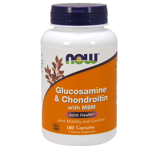 Glucosamine & Chondroitin with MSM by NOW