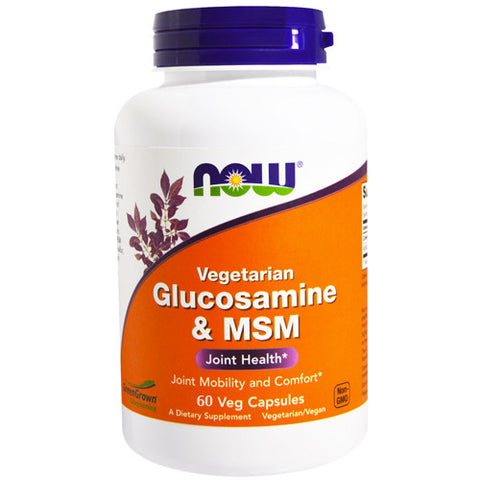 Glucosamine & MSM by NOW