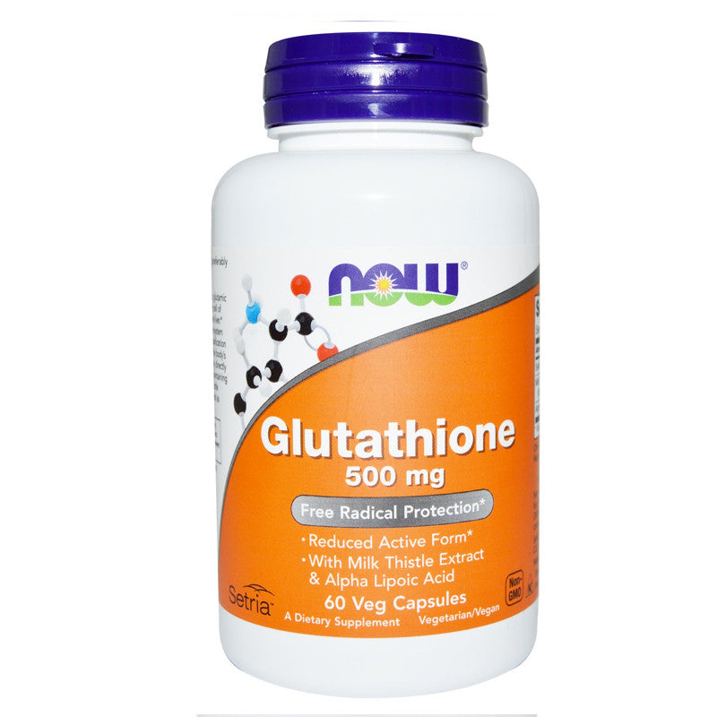 Glutathione 500mg by NOW