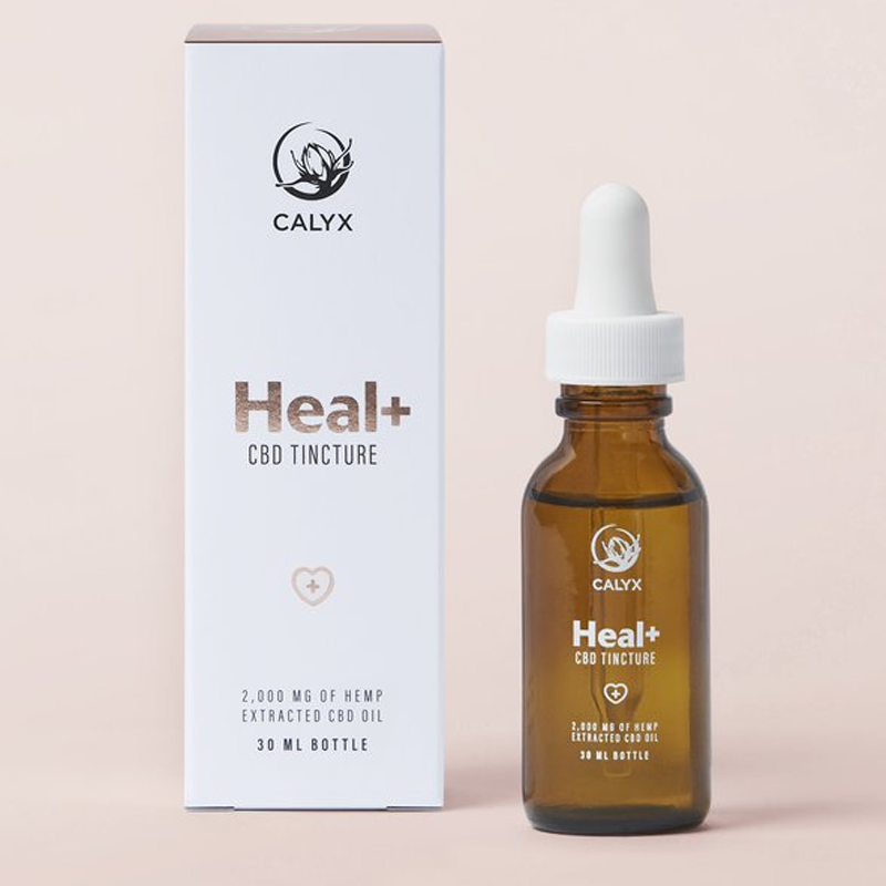 HEAL+ 2000mg CBD Tincture by Calyx Wellness