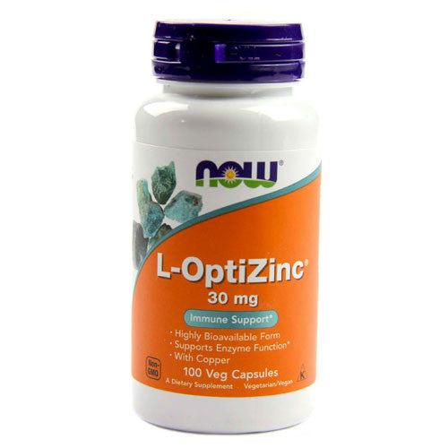 L-OptiZinc 30mg by NOW