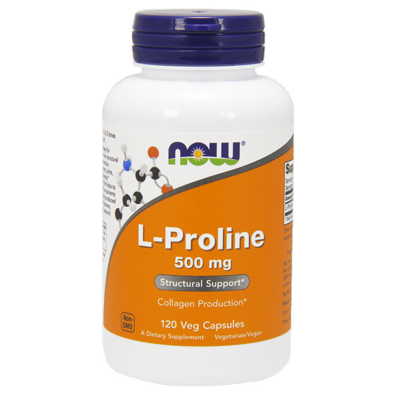 L-Proline 500mg by NOW