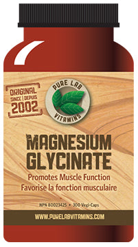 Magnesium Glycinate Capsules (165mg) by Pure Lab