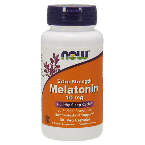 Melatonin 10mg Capsules by NOW