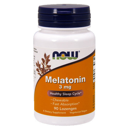 Melatonin 3mg Chewable by NOW