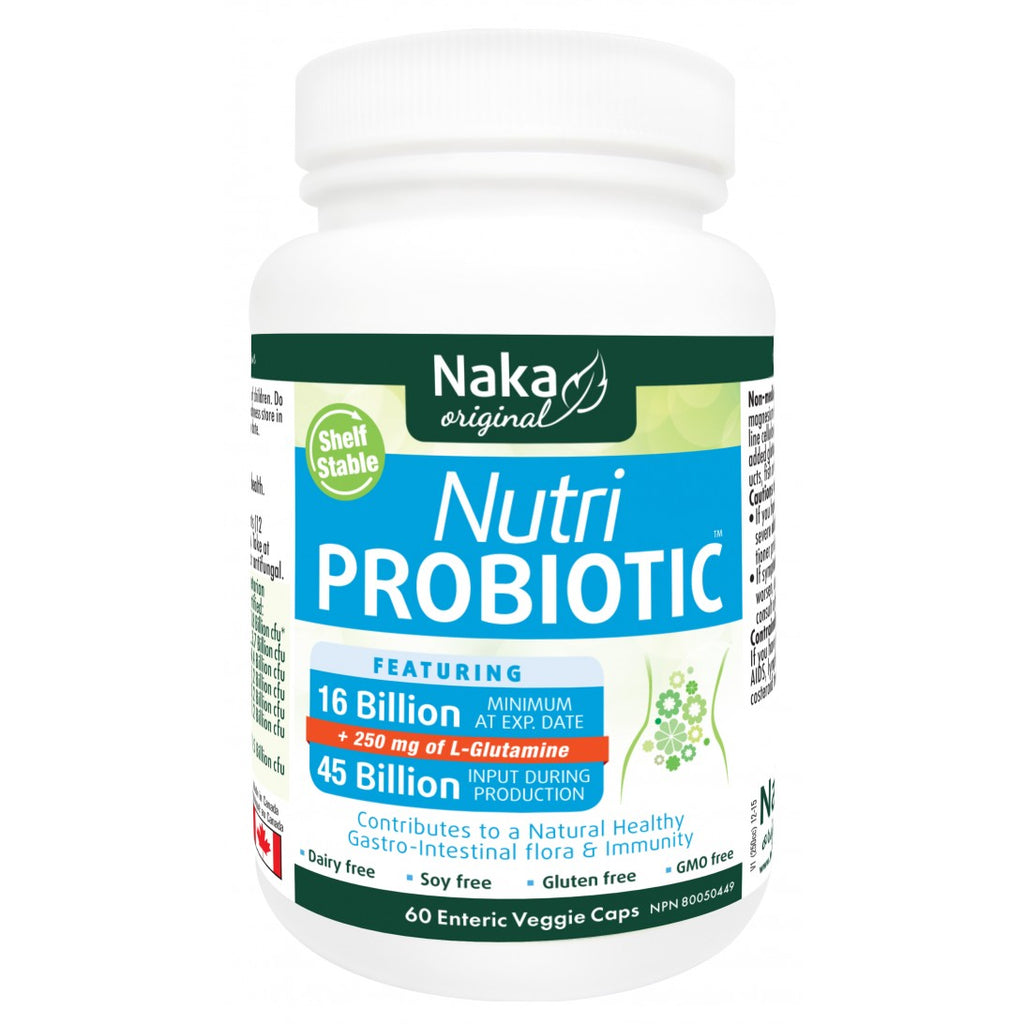 Nutri Probiotic with L-Glutamine by Naka