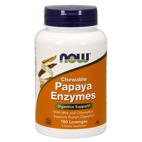 Papaya Enzymes (Chewable) by NOW