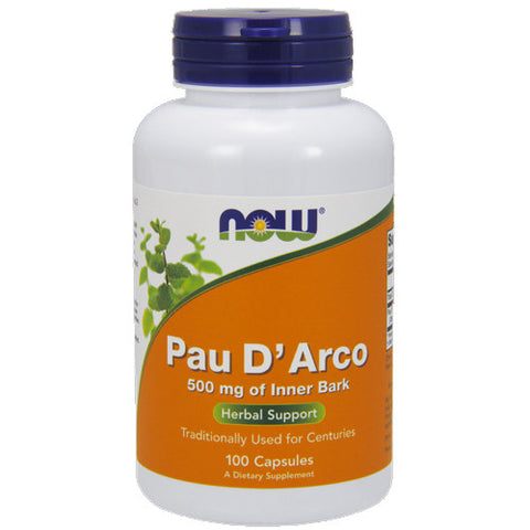 Pau D'Arco 500mg by NOW