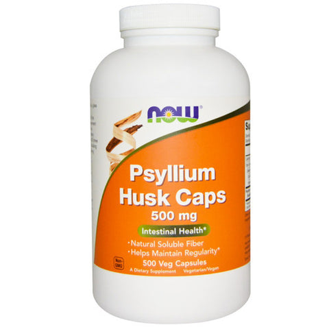 Psyllium Husk Caps by NOW