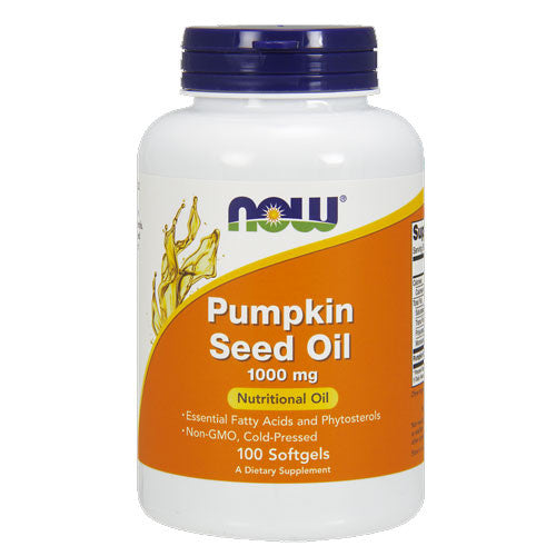 Pumpkin Seed Oil 1000mg by NOW