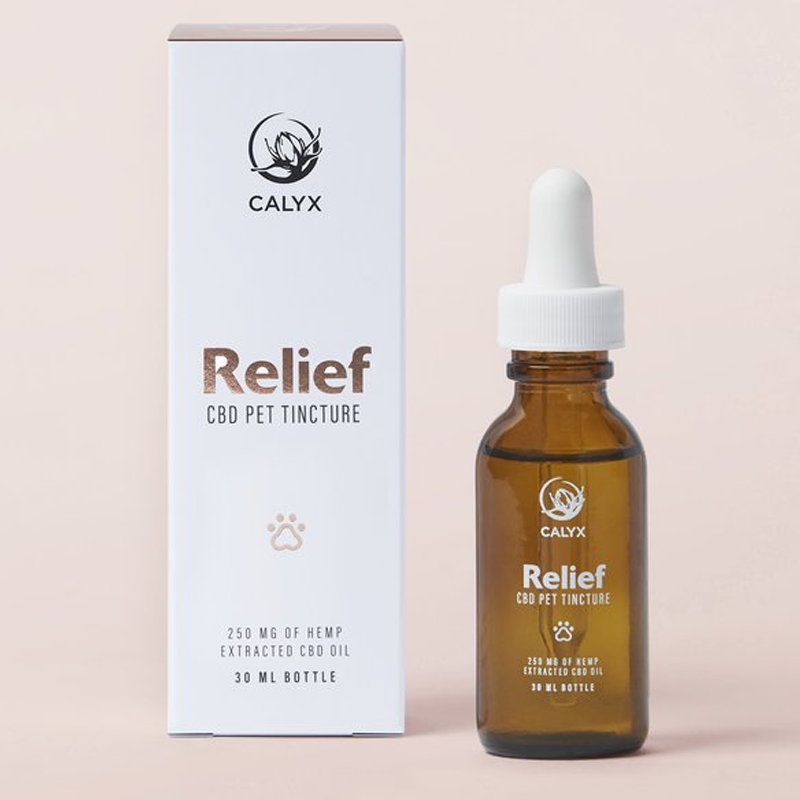 RELIEF 250mg CBD Tincture for Pets by Calyx Wellness