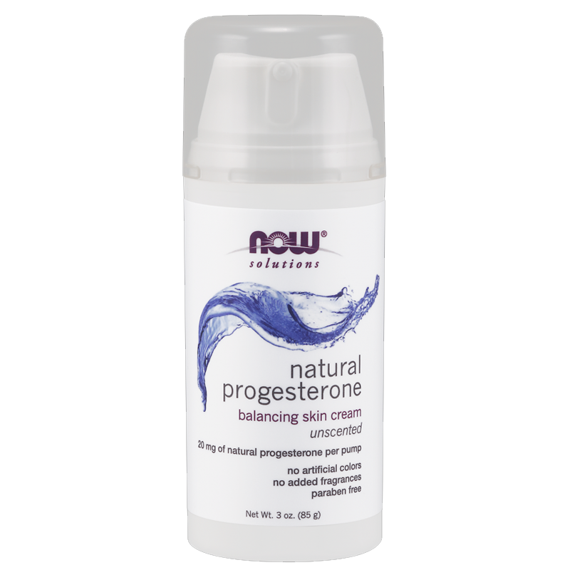 Natural Progesterone Skin Cream by NOW