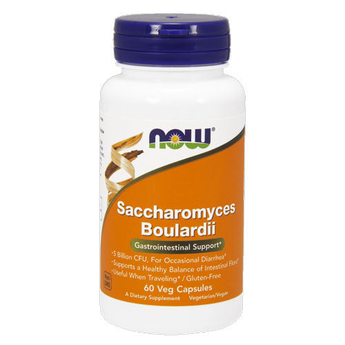 Saccharomyces Boulardii by NOW