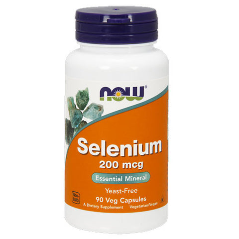 Selenium 200mcg by NOW