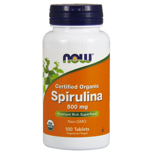 Spirulina 500mg by NOW