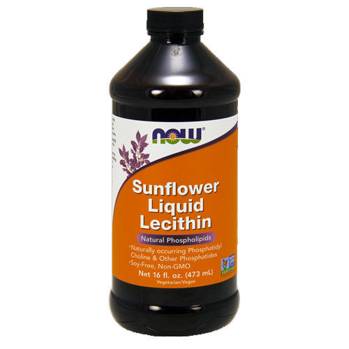Sunflower Lecithin Liquid by NOW
