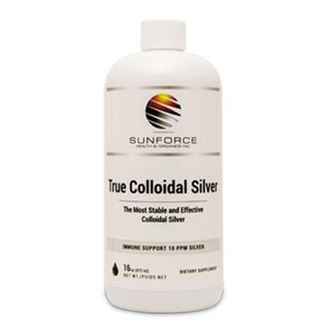True Colloidal Sliver by Sunforce Health & Organics