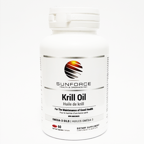 Krill Oil by Sunforce Health & Organics