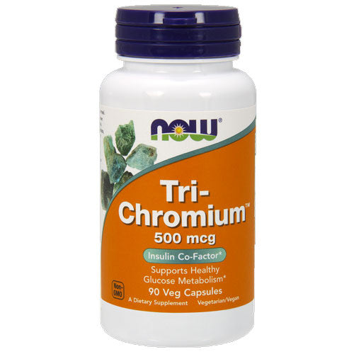 Tri-Chromium 500mcg by NOW