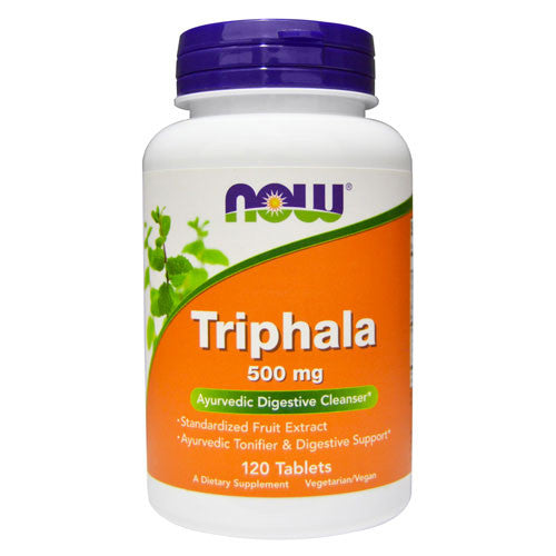 Triphala 500mg by NOW