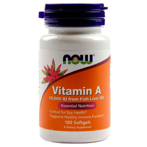Vitamin A 10,000 IU by NOW