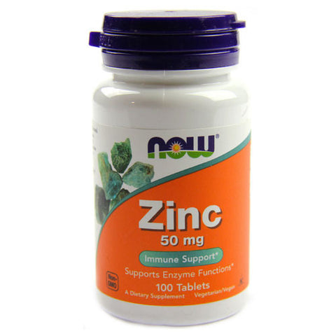 Zinc 50mg by NOW