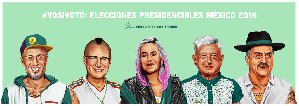 "2018 Mexican general election ""Go-Vote!"" Campaign."